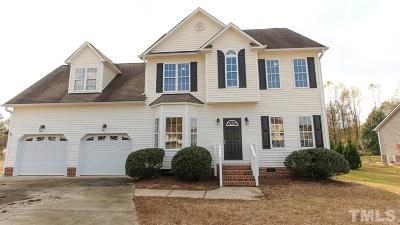 Raleigh NC Single Family Home For Sale: $279,499