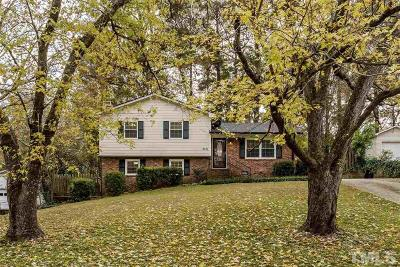Raleigh NC Single Family Home For Sale: $300,000