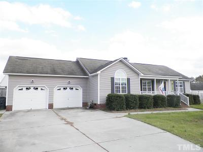 Clayton NC Single Family Home For Sale: $181,900