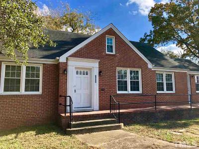 Wake County Rental For Rent: 1302 Oberlin Road