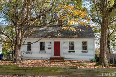 Durham NC Single Family Home For Sale: $300,000