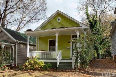 Wake County Single Family Home Contingent: 524 N East Street