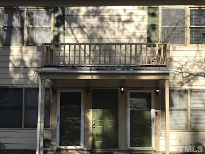 Raleigh NC Condo For Sale: $98,000