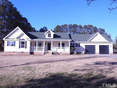 Zebulon Single Family Home For Sale: 64 Adna Pearce Road