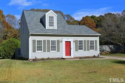 Raleigh Single Family Home Contingent: 1700 Sierra Drive