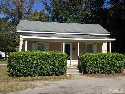 Dunn Single Family Home For Sale: 501 E Vance Street