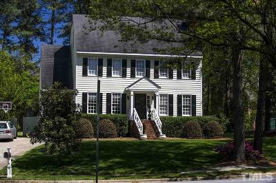 Raleigh Single Family Home For Sale: 1841 Thorpshire Drive