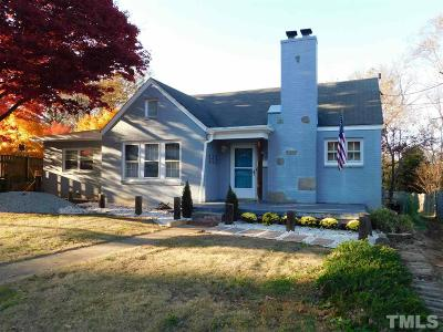 Chatham County Single Family Home For Sale: 312 W Dolphin Street