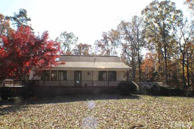 Chatham County Single Family Home For Sale: 317 Bruce Burns Road