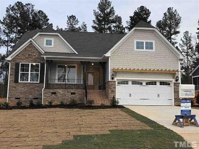 Durham Single Family Home Pending: 1104 Crescent Moon Court