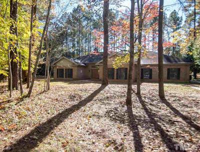 Wake Forest Single Family Home For Sale: 1613 Great Woods Drive