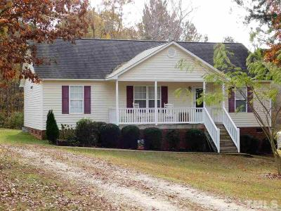 Clayton Single Family Home Contingent: 406 Sunray Drive