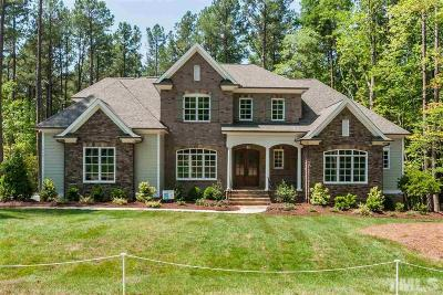 Wake Forest Single Family Home Pending: 1405 Reservoir View Lane