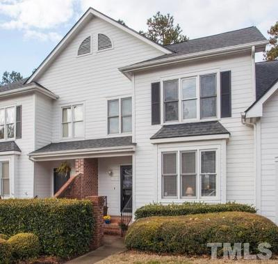Cary Townhouse Pending: 323 Center Pointe Drive