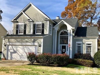 Cary Single Family Home For Sale: 428 Fincastle Drive
