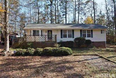 Franklinton Single Family Home For Sale: 30 Vamoco Drive