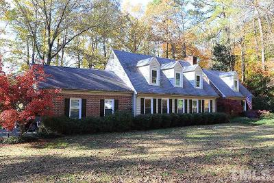 Garner Single Family Home Pending: 607 Buffaloe Road