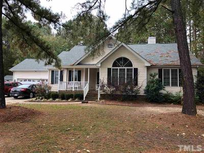 Fuquay Varina Single Family Home For Sale: 516 Nature Walk Road