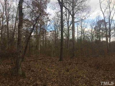 Chatham County Residential Lots & Land Pending: 251 Gade Bryant Road