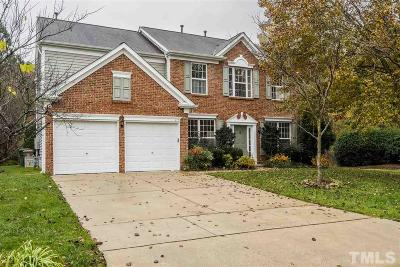 Cary Single Family Home Contingent: 612 Sherwood Forest Place