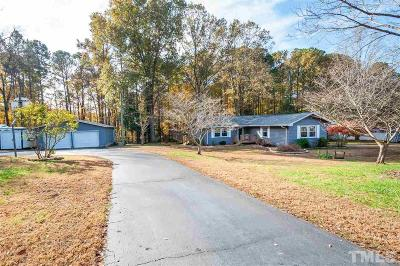 Wake Forest Single Family Home Contingent: 701 Dogwood Hill Lane