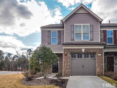Cary Townhouse For Sale: 538 Denhoff Drive