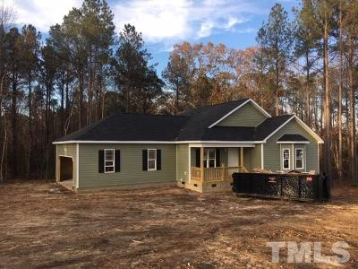 Angier Single Family Home Pending: 459 Silas Hayes Road
