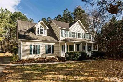 Knightdale Single Family Home For Sale: 237 Tranquility Lane
