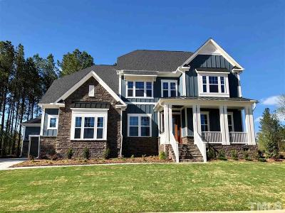 Holly Springs Single Family Home For Sale: 100 Falling Stone Drive #92