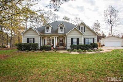 Youngsville Single Family Home Contingent: 15 Winchester Court