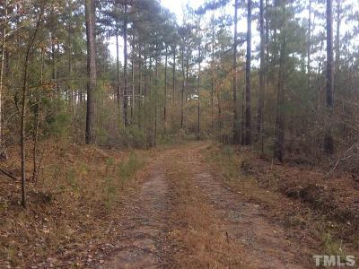 Chatham County Residential Lots & Land For Sale: 743 E Gargus Road