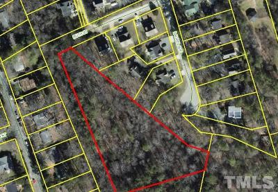 Carrboro Residential Lots & Land For Sale: 115 Ruth Street