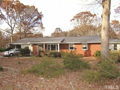 Sanford NC Single Family Home Contingent: $157,900