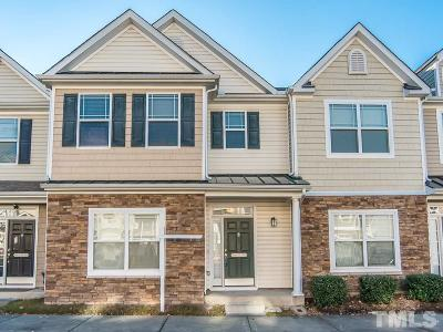 Morrisville Townhouse For Sale: 711 Keystone Park Drive #60