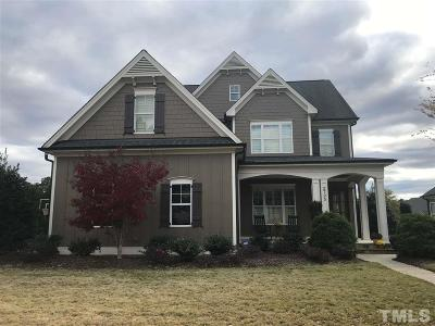 Raleigh Single Family Home Pending: 2725 Full Circle