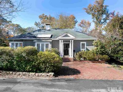 Chapel Hill Single Family Home Contingent: 111 Ridge Lane