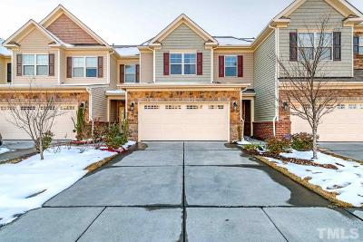 Morrisville Townhouse For Sale: 508 Whitworth Lane