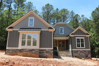Wake Forest Single Family Home For Sale: 1221 Rogers Farm Road
