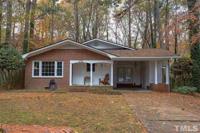 Chapel Hill Single Family Home For Sale: 209 Bennington Drive