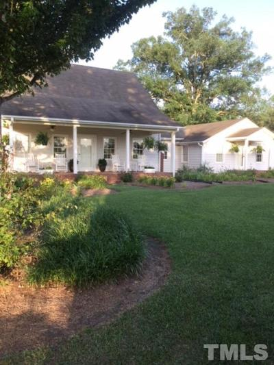 Angier Single Family Home For Sale: 4170 Zacks Mill Road
