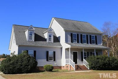 Harnett County Single Family Home For Sale: 74 Cross Link Drive