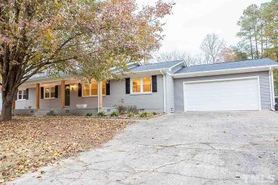 Durham Single Family Home For Sale: 3406 Cole Mill Road