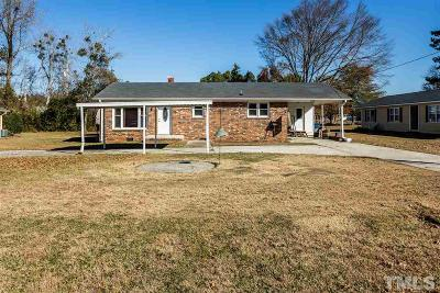 Smithfield Single Family Home For Sale: 107 E Heath Avenue