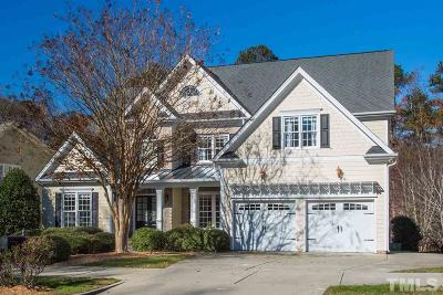 Cary Single Family Home Contingent: 5604 Highcroft Drive