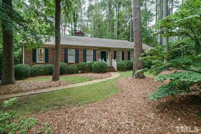 Wake County Single Family Home Contingent: 300 Hillandale Drive