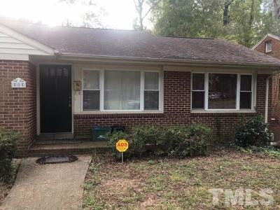 Lee County Single Family Home For Sale: 505 Cross Street