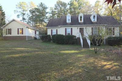 Clayton Single Family Home For Sale: 509 Dogwood Ridge