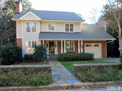Wake County Single Family Home For Sale: 2308 Hales Road