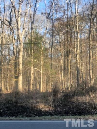 Chapel Hill Residential Lots & Land Pending: A3 Nc Old 86 Highway