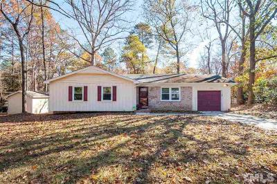 Raleigh Single Family Home Contingent: 1505 Woodard Street